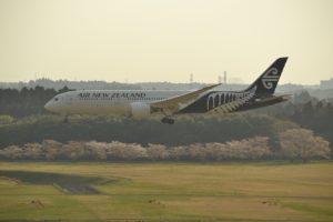 ニュージーランド航空・Boeing787-8(2017.4.15)